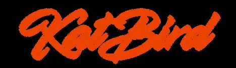KatBird Logo - Red