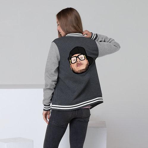 RAY Face Women's Letterman Jacket