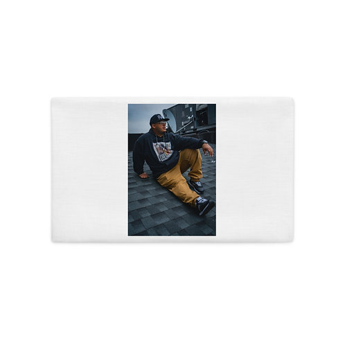 RAY! Face Poster Premium Pillow Case