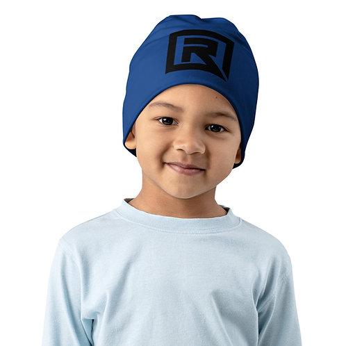 R! All-Over Print Kids Beanie