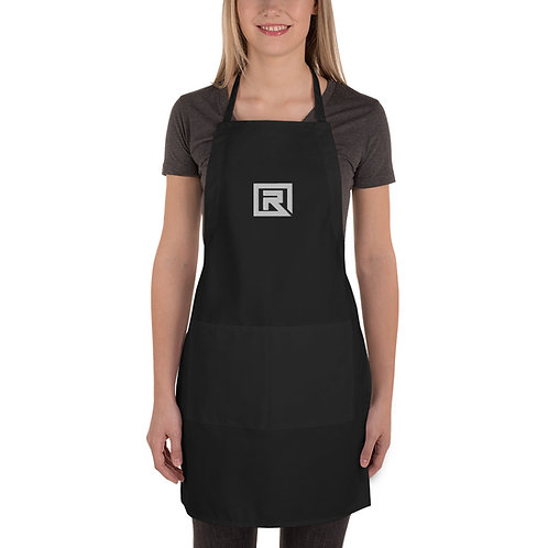 R! Embroidered Apron