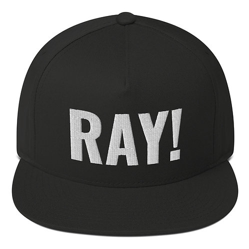 RAY! Flat Bill Cap