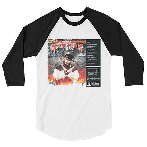 Imagine If: 3/4 sleeve raglan shirt