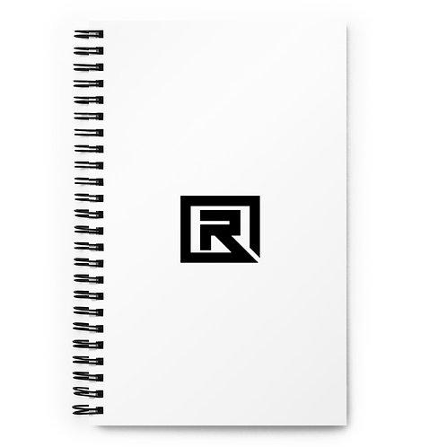 R! Face Spiral notebook