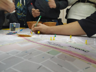 Στο 1ο εργαστήριο συμμετοχικού σχεδιασμού στα Σεπόλια