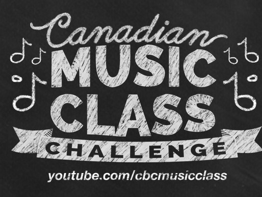 Editing & Producing: Canadian Music Class Challenge