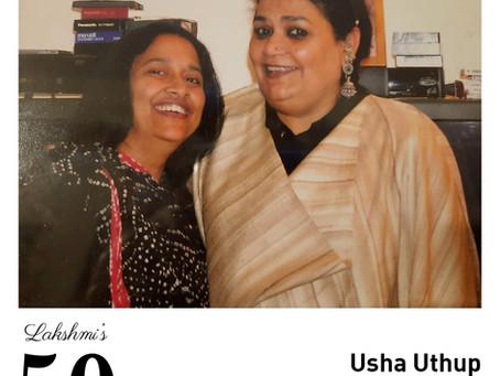 #50over50: Usha Uthup