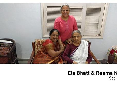 #50over50: Ela Bhatt and Reema Nanavati
