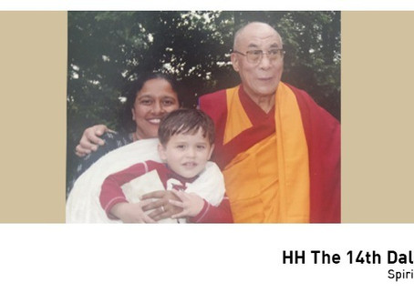 #50over50: His Holiness The 14th Dalai Lama