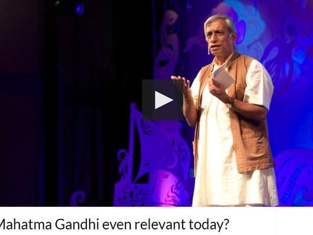 Celebrating Gandhi through true Gandhians - Late Anupam Mishra, (Part 3 of 5)