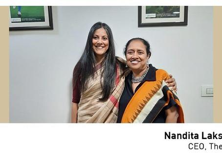 #50over50: Nandita Lakshmanan