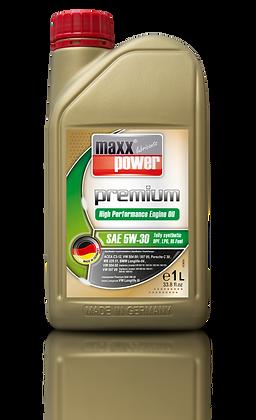 Maxxpower Lubrifiant Premium moteur 5W-30 100% de Synthèse 1 litre
