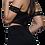 Thumbnail: IVY | Black Lace Crop Top