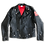 Thumbnail: Faux Leather Jacket (red)