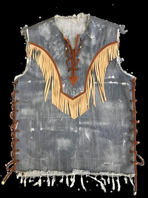 Coachella Fringe Vest