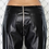 Thumbnail: YASMENE | Cross Chain Leather Pants