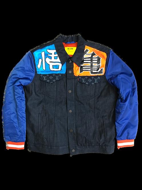 'Super Saiyan' Varsity Jacket