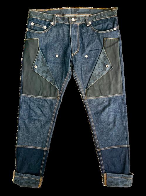 Mixed Denim Skull Lined Jeans (set)