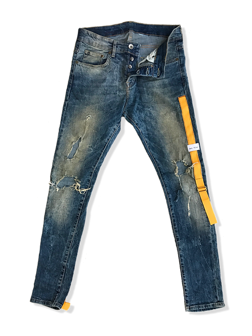 Strapped Jeans