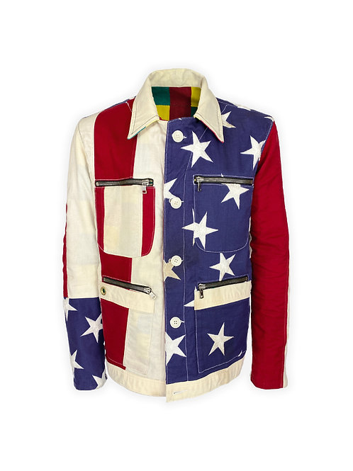 Reversible American/African Jacket