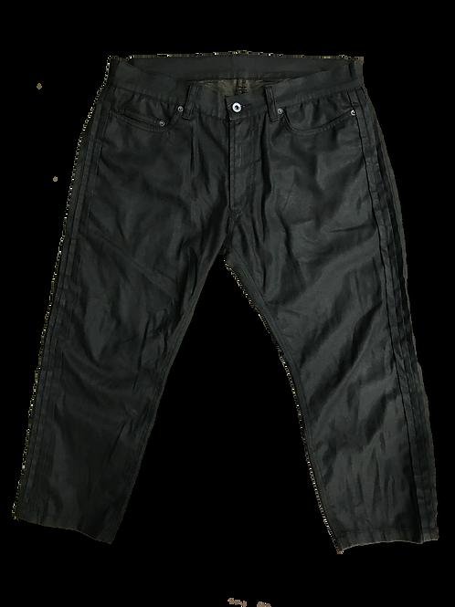 Cropped Light Denim Pants