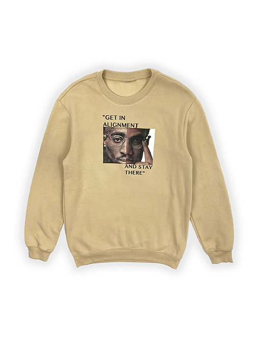 Malcolm X Alignment Sweater