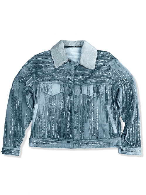 Couture Denim Trucker Jacket