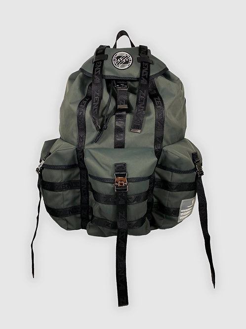 Extra Large Rucksack Backpack in Gray