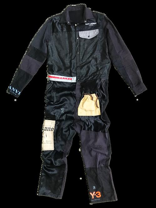 Designer Patchwork Jumpsuit