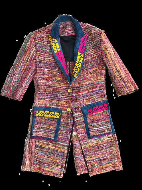 Jaavi Silk Trench Coat