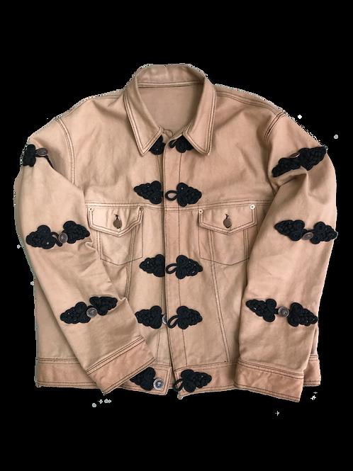Khaki Denim Jacket (set)