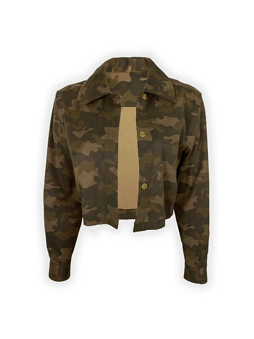 Stretched Military Shirt [set]