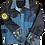 Thumbnail: Mixed Denim Floral Jacket