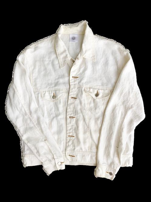 Lightweight Denim Jacket in White
