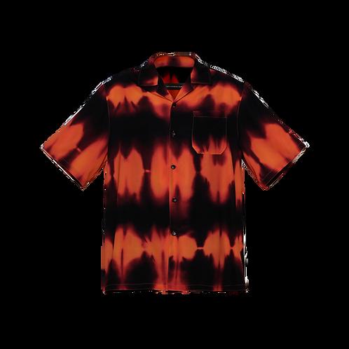 Orange Flame Shirt F8KE CHEMICAL CLUB - Vytal Fashion Showroom