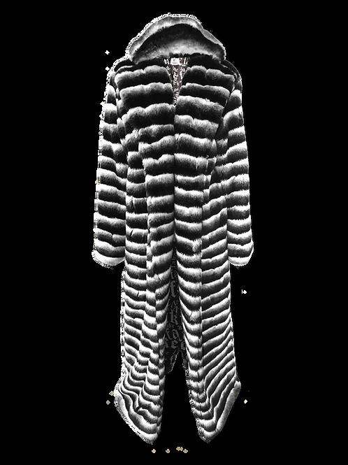 Chinchilla Floor Length Faux Fur