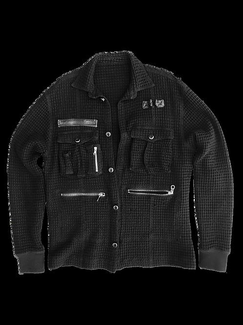 Woven Knit Sweater