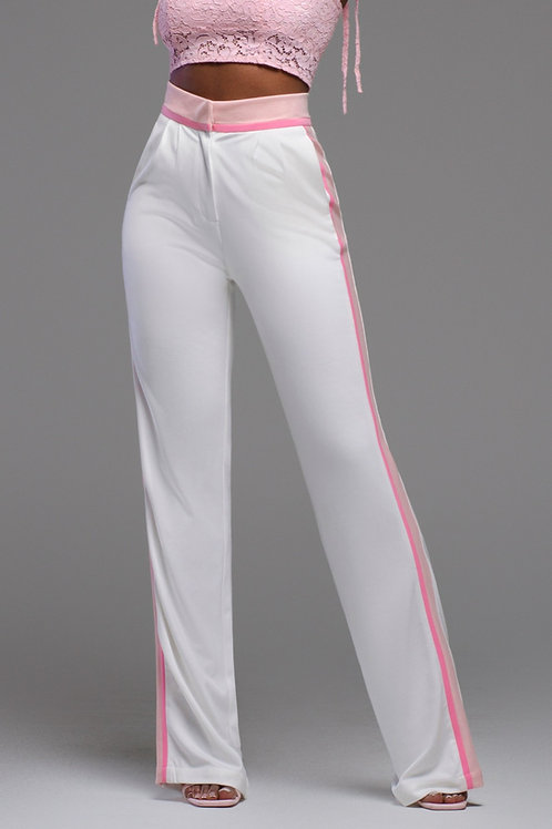 Harper II | Tricolor High Waist Trousers