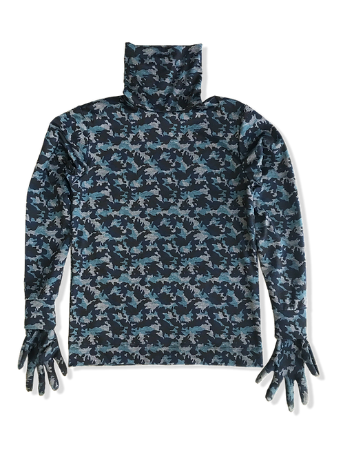 Camo Madrid Gloved Turtleneck