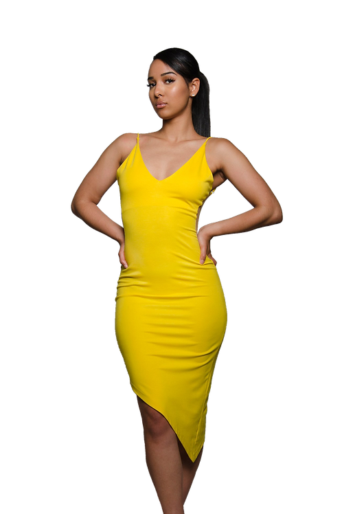 DAVINA | Yellow Dress