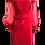 Thumbnail: NAYELI | Red Off-Shoulder Dress