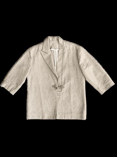 Linen Kimono Blazer