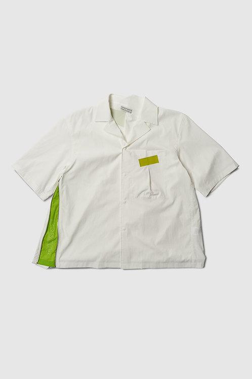 Art House Safari Shirt in White