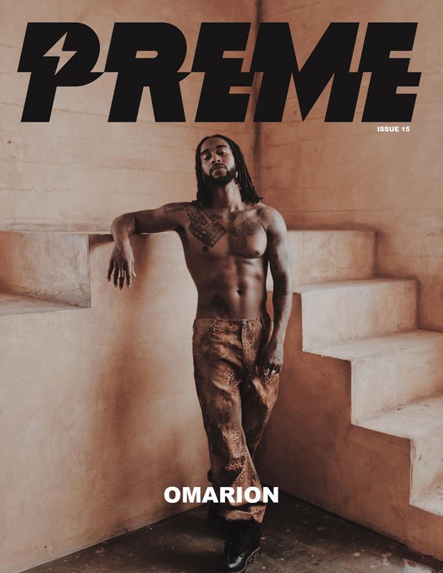 Omarion   Preme Magazine