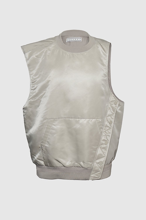 Tactical Rain Vest in Beige
