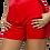 Thumbnail: SWEETHEART | Red Tuxedo Dress Shorts [set]