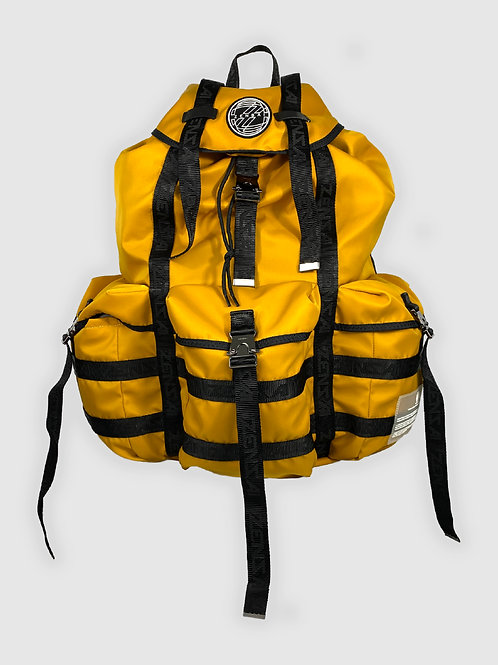 Extra Large Rucksack Backpack in Yellow