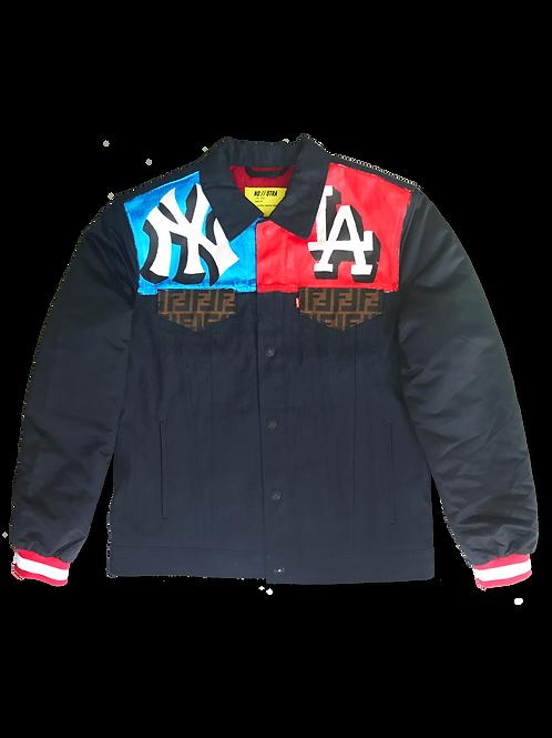 'East vs West' Varsity Jacket