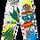 Thumbnail: 'Basquiat Global Warming' Painter Pants