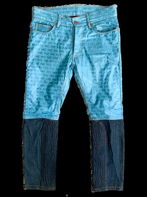 Two Tone Denim Jeans